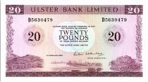 Irlande du Nord 20 Pounds Ulster Bank - 1988 - P.328 c
