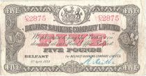 Irlande du Nord 5 Pounds Armoiries - 1938
