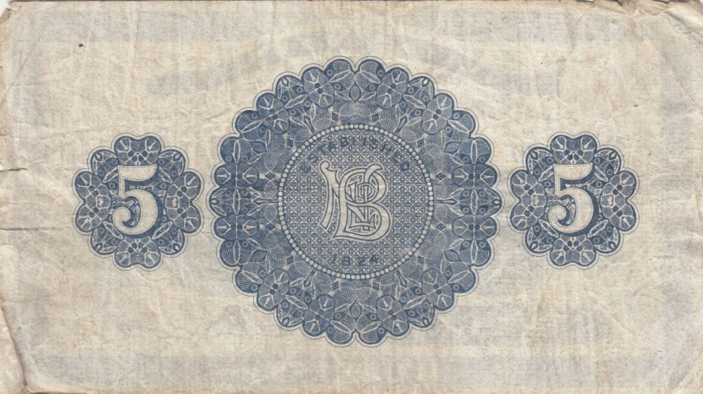 Irlande du Nord 5 Pounds Northern Bank Limited 1940 - Série NI/L - p.tb - P.180