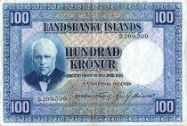 Islande 100 Kronur, J. Sigurdsson - Moutons - 19(43-57) - P.35 a
