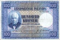 Islande 100 Kronur J. Sigurdsson - Moutons - 19(43-57)