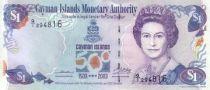 Islas Caimán 1 Dollar Elisabeth II - 500 th Anniversary of Discovery - 2003