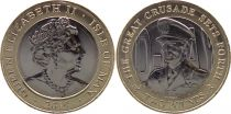 Isle of Man 2 Pounds D DAY - Georges VI 2019 - Bimetal
