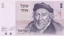 Israel 1 Sheqel Moshe Montefiore - Jaffa Gate - 1980