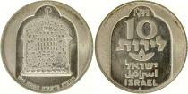 Israël 10 Lirot Lampe de Damas - 1974