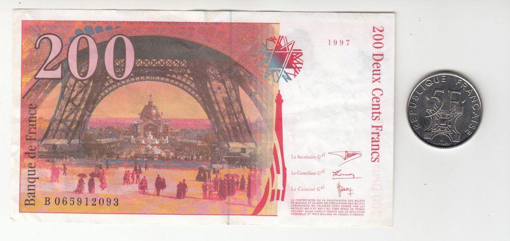 Israël Série Eiffel  - Inclus 200 Francs Eiffel et 5 Francs Tour Eiffel - 230 ans de la Tour Eiffel