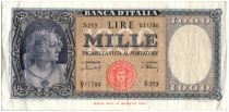 Italia 1000 Lire Italy decorated with pearls