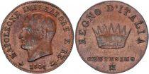 Italian States 1 Centisimo - Napoléon I -1807 M