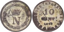 Italian States 10 Centisimi - Napoléon I -1810 M