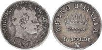 Italian States 5 Soldi - Napoléon I  - 1811 M