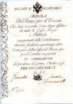 Italie 10 Ducati Aigle Austro-Hongrois - 01/10/1798