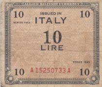 Italie 10 Lire 1943