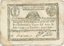 Italie 10 Paoli Aigle - Anno 7