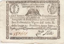 Italie 10 Paoli Aigle, Anno 7 - 1798 Losange 2 ex