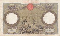 Italie 100 Lire - 21-10-1938 - Femme au sceptre, Aigle - Série G361