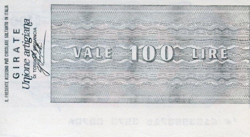 Italie 100 Lire Istituto Bancario Italiano - 1976 - Torino - Neuf