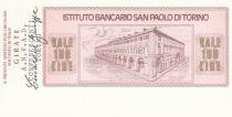 Italie 100 Lires  lIstituto Bancario San Paolo di Torino - 1976 - ANVAD Turin - Neuf