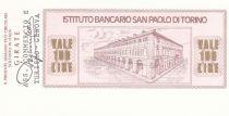 Italie 100 Lires  lIstituto Bancario San Paolo di Torino - 1976 - Gênes - Neuf