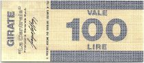 Italie 100 Lires Banco Ambrosiano - 06-04-1977 - La Centrale - Neuf