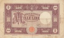 Italie 1000 Lire - Armoiries et Ornements - 1946