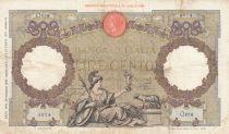 Italie 1000 Lire  Italia - 25-05-1940 - Série Q.486 - TTB - P.55