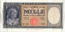 Italie 1000 Lire Italie ornée de perles