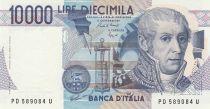 Italie 10000 Lire - 03-09-1984 - Volta, Mausolée - Série PD