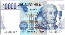 Italie 10000 Lire A. Volta - Mausolée