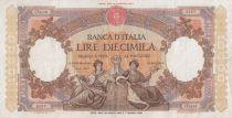 Italie 10000 Lire Venise et Gênes assises - 1962 - TTB - P.89d