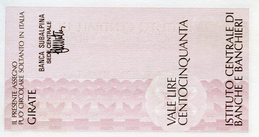 Italie 150 Lire Istituto Centrale di Banche E Banchieri - 1977 - Milano - Neuf
