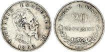 Italie 2 Centesimi Victor Emmanuel II - 1863 MBN