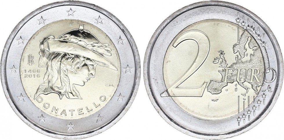Italie 2 Euro Donatello - 2016