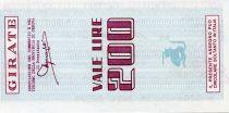 Italie 200 Lire Banco di Chiavari e della Riviera Ligure - 1977 - Genova - Neuf