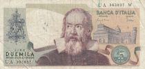 Italie 2000 Lire - 24-10-1983 - G. Galilei