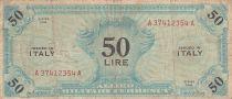 Italie 50 Lire 1943 - Bleu - Série A37412354A