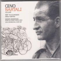 Italie Coffret BU 2014 - Gino Bartali - 8 MONNAIES