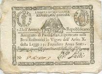 Italien 10 Paoli Eagle - Arms