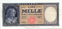 Italien 1000 Lire Italy decorated with pearls