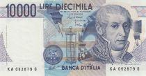 Italien 10000 Lire - 03-09-1984 - Volta, Mausoleum - Serial KA