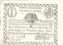 Italien 7 Paoli Eagle - Arms