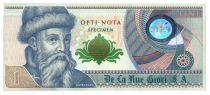 Italy 1, Test Note - De la Rue Giori - Gutenberg Uniface