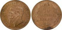 Italy 10 Centesimi Vittorio Emanuele II - 1863 PCGS MS 63 BN