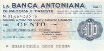 Italy 100 Lire - Banca Antoniana - 1976 - UNC