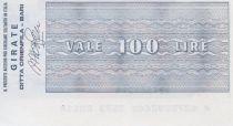 Italy 100 Lire Istituto Bancario Italiano - 1977 - Bari - UNC