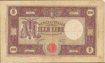 Italie 1000 Lire - Armoiries et Ornements - 1944 Série U.26