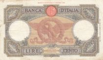 Italy 1000 Lire  Italia - 25-05-1940 - Serial Q.486 - VF- P.55