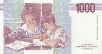 Italy 1000 Lire 1990 - M. Montessori - Students