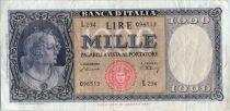 Italy 1000 Lires 1948 L.1947