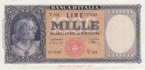 Italy 1000 Lires Italia - 1948 - XF - Serial V 168 - P.88a