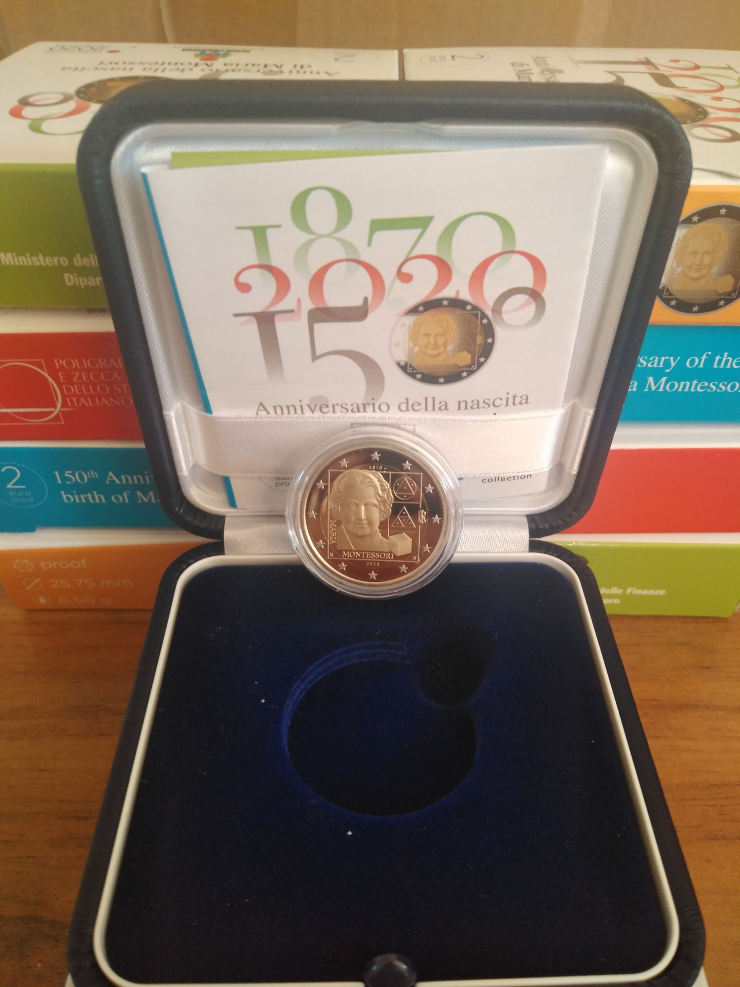 Italy 2 Euro Montessori - 2020 - Proof